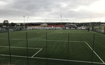 Barnet FC artificial grass soccer pitch