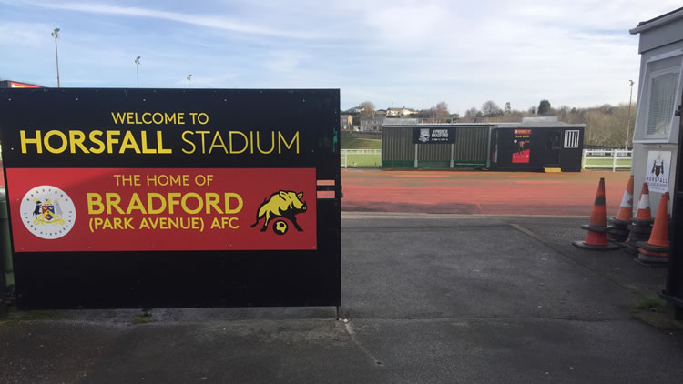 Bradford Park Avenue FC synthetic turf pitch resurfacing project