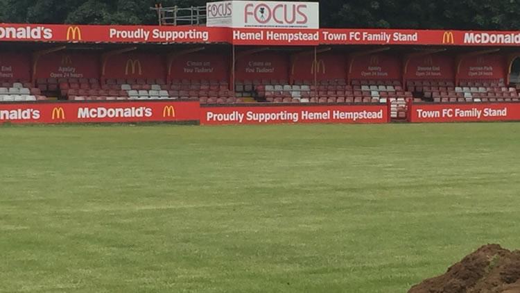 Hemel Hempstead Town FC 3G pitch