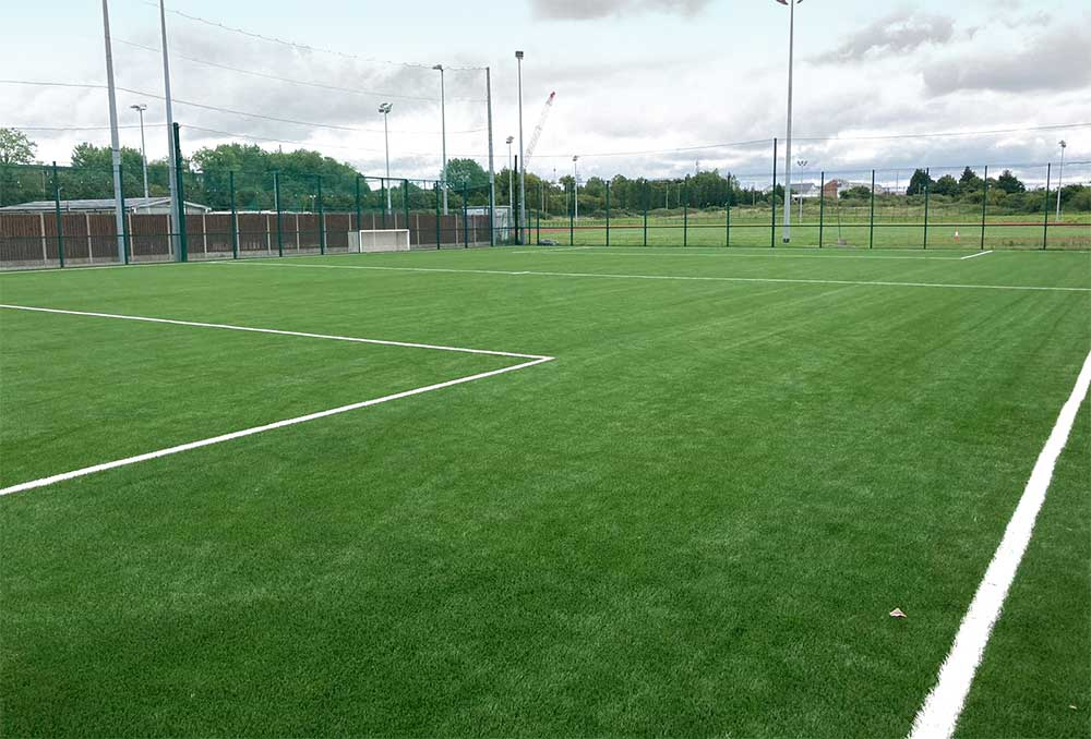 Leixlip Amenities 5 a side astro turf soccer pitch