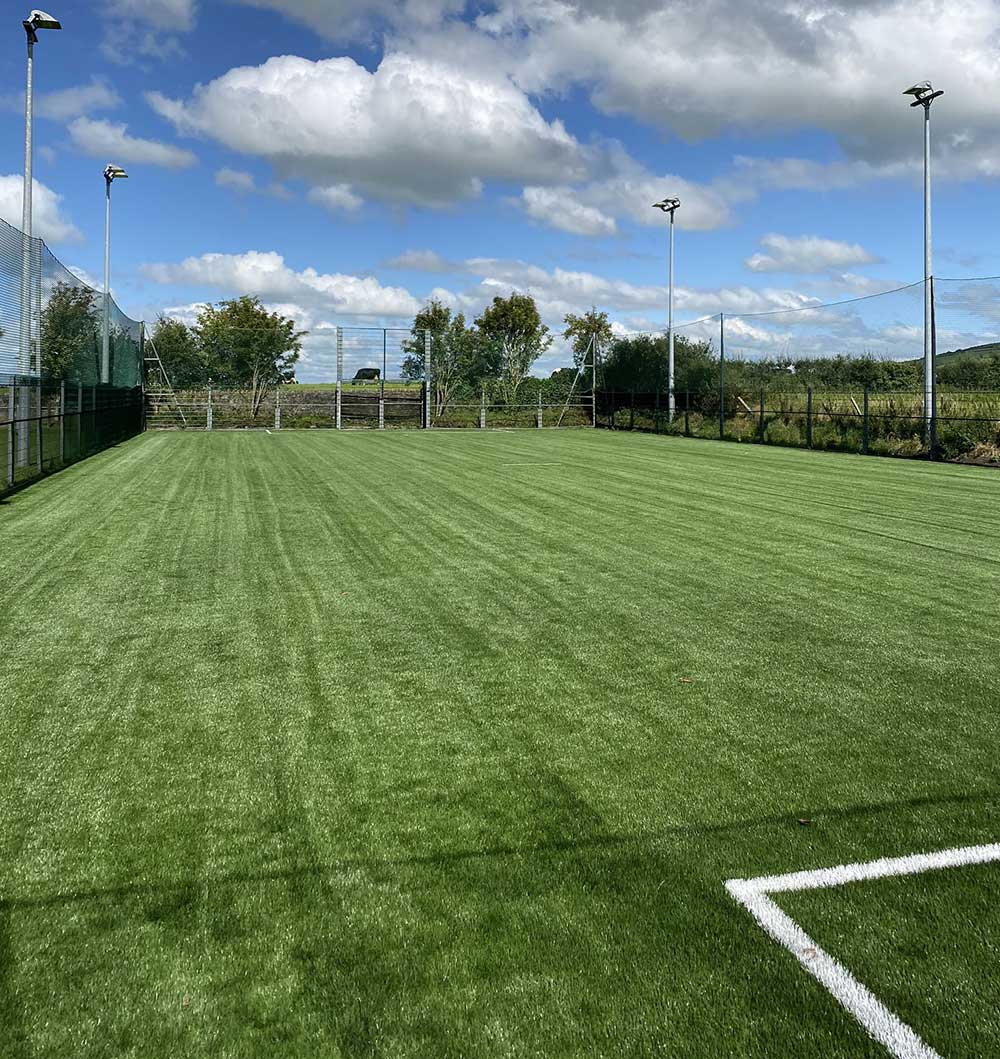 Ballingarry AFC artificial grass pitch