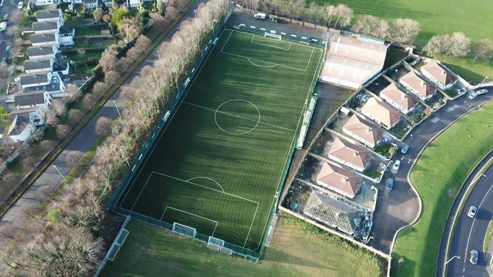 Leicester Celtic FC all weather pitch