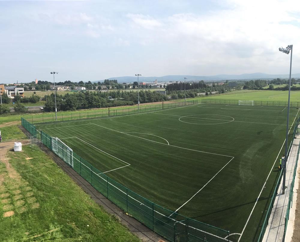 Artificial grass pitch Dublin