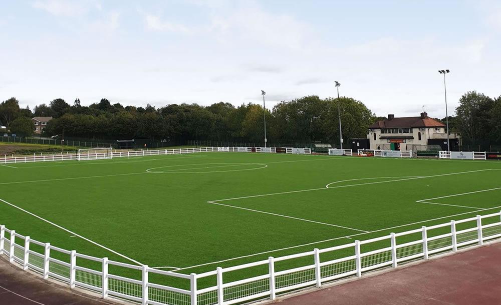 Bradford Park Avenue FC synthetic turf pitch