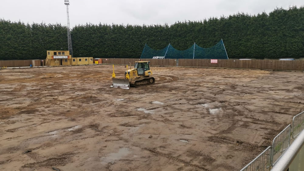 Morpeth Town FC - Converting Craik Park to 3G pitch