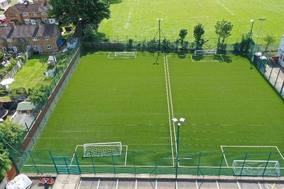 6-a-side artificial pitch at Hemel Hempstead Town FC