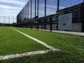 Artificial grass installation project at James St CBS, Dublin 8