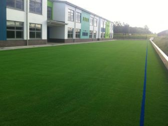 Artificial grass pitch at Gaelscoil an Chuilinn, Tyrrelstown, Co Dublin