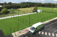 Artificial grass pitch at Killeen National School