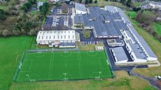 Artificial grass pitch at Tullow Community College