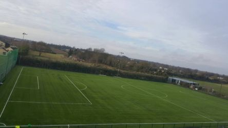 Artificial grass pitch at Ballyoulster United FC