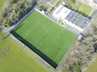 Clongowes Wood College rugby pitch, Clane, Co Kildare