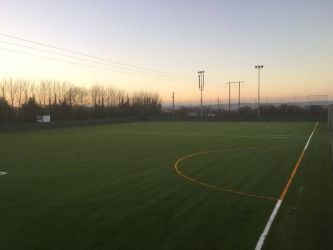 Artificial Grass Pitch at College Corinthians FC