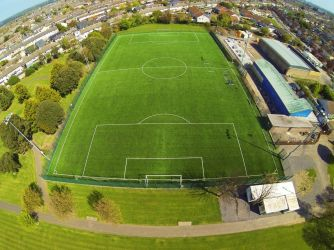 Crumlin United FC - Synthetic Grass Pitch