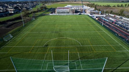 Le Cheile Secondary School full size GAA pitch