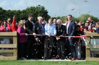 Official opening of Mullingar RFC with PST Sport