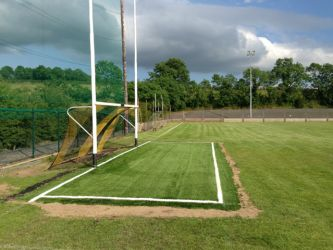 PST Sport Artificial Grass Goalmouth Installation