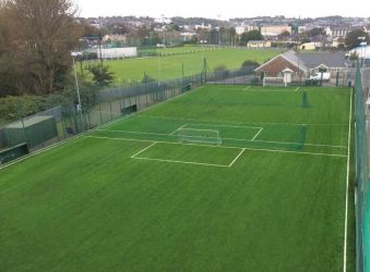 Synthetic Grass Pitch at Villa FC